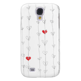 JON iPhone3 Case Red Hearts