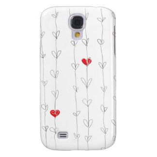 JON iPhone3 Case Red Hearts