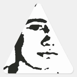 Jon Mahon Triangle Sticker