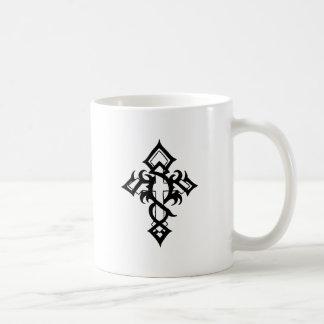 Jon Michael Tattoo Classic White Coffee Mug