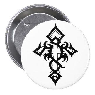 Jon Michael Tattoo Pinback Button