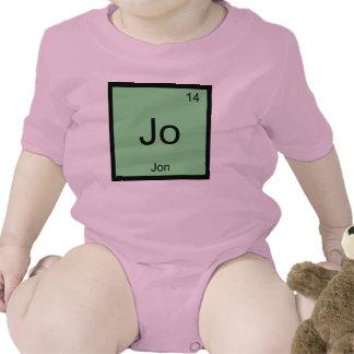 Jon  Name Chemistry Element Periodic Table Tee Shirt