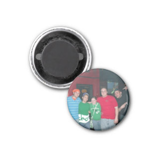jon on the side 1 inch round magnet