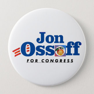 Jon Ossoff for Congress Button #VoteYourOssoff!