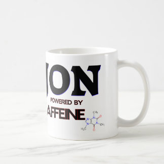 Jon powered by caffeine mugs