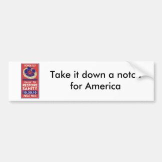 Jon Stewart Lei Bumper Sticker