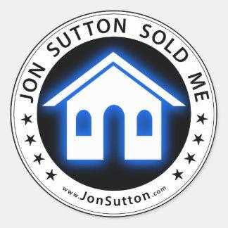 Jon Sutton me vendió Pegatinas
