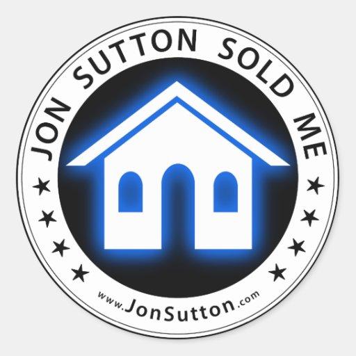 Jon Sutton me vendió Pegatina Redonda