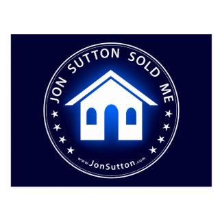Jon Sutton me vendió Tarjeta Postal