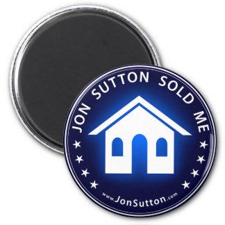 Jon Sutton Sold Me 2 Inch Round Magnet