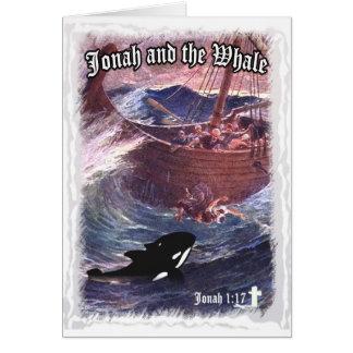 Jonah 1:17 - Jonah and the Whale Greeting Card