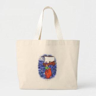 Jonah and the Big Fish Jumbo Tote Bag
