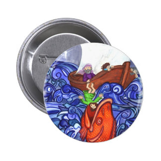 Jonah and the Big Fish Button