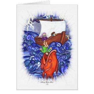 Jonah and the Big Fish Card