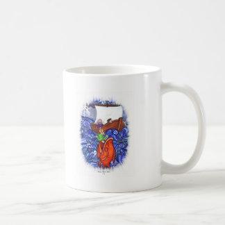 Jonah and the Big Fish Classic White Coffee Mug