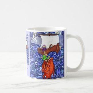 Jonah and the Big Fish mug