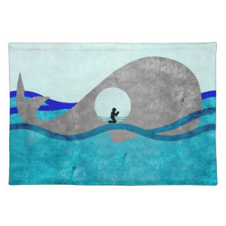 Jonah And The Whale Place mat Cloth Placemat