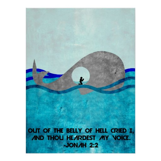 Jonah And The Whale Poster