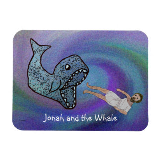 Jonah and the Whale Premium Magnet