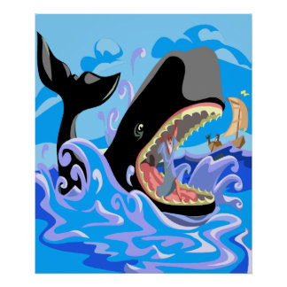 Jonah in the Whale Poster