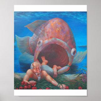 Jonah -The Arrival of Jonah in Nineveh Poster