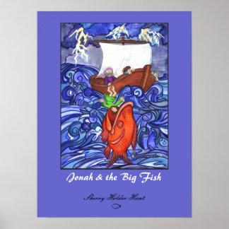Jonah posters zazzle for Big fish printing