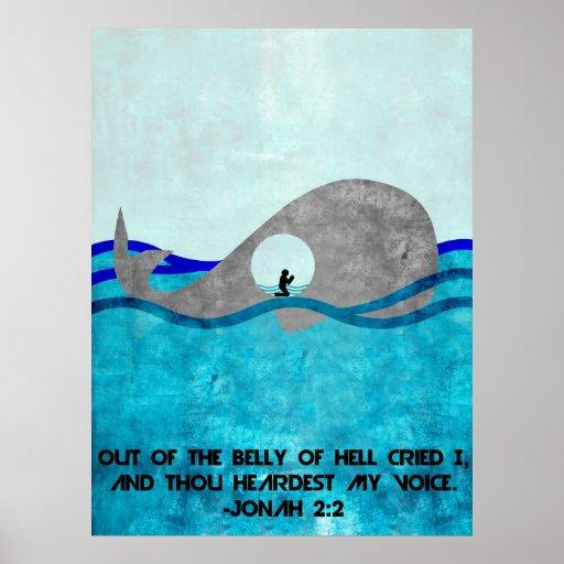 Jonah y la ballena póster