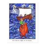 Jonah y la postal grande de los pescados