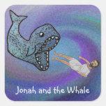 Jonah y los pegatinas de la ballena