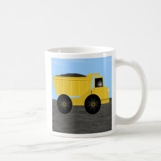 Jonas Dump Truck Personalized Name Mug