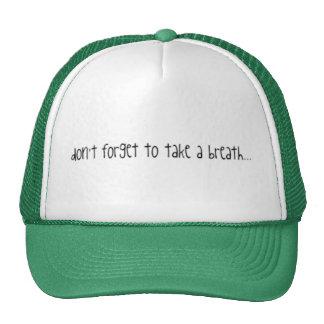 "jonas lyrics ""take a breath"" mesh hats"