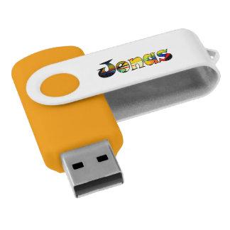Jonas modificó memoria USB para requisitos Memoria USB 2.0 Giratoria