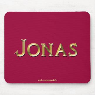 JONAS Nombre-Calificó el regalo personalizado Mous Alfombrilla De Ratones