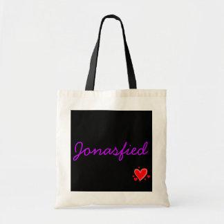 Jonasfied (purple) tote bag