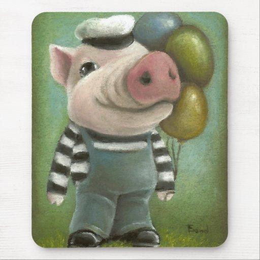 Jonatán el cerdo alfombrillas de ratones