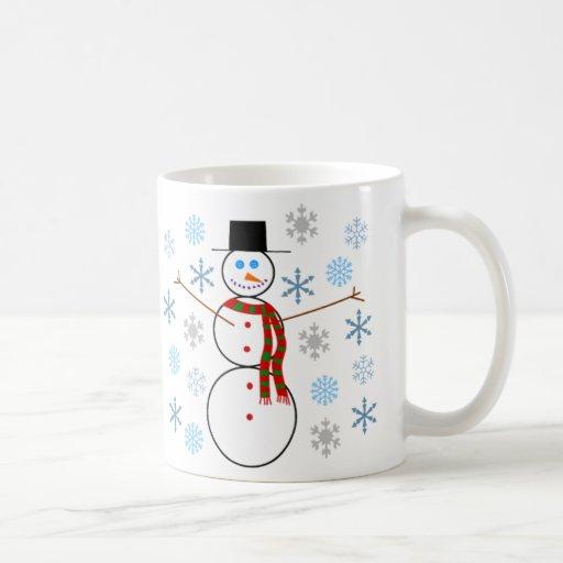 Jonatán P. Snowman - taza de café