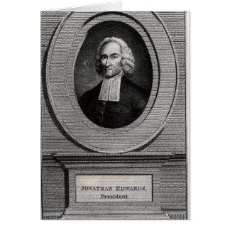 Jonathan Edwards Greeting Card
