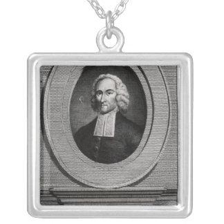 Jonathan Edwards Square Pendant Necklace