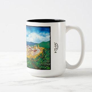 Jonathan Kis-Lev Next Year in Jerusalem 15 oz Mug