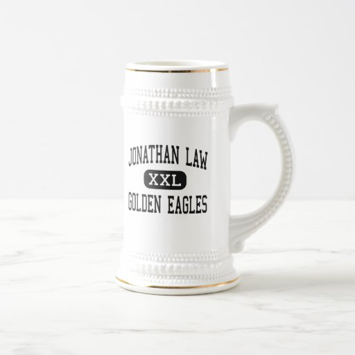 Jonathan Law - Golden Eagles - High - Milford 18 Oz Beer Stein