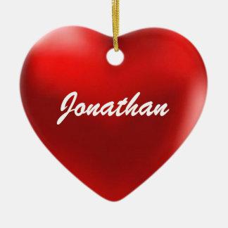 Jonathan Ornament Heart