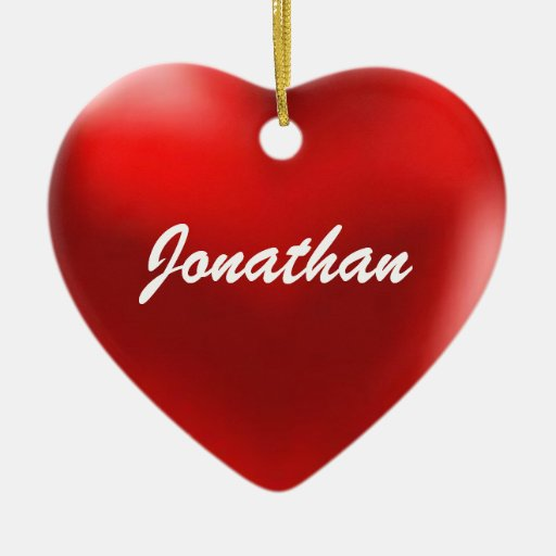 Jonathan Ornament Heart
