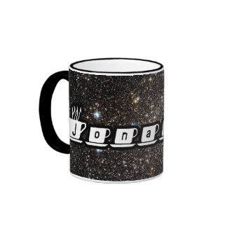 Jonathan - Our Starry Universe Ringer Mug