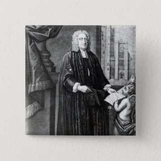Jonathan Swift, engraved by Andrew Miller, 1743 Button