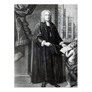 Jonathan Swift, engraved by Andrew Miller, 1743 Post Cards