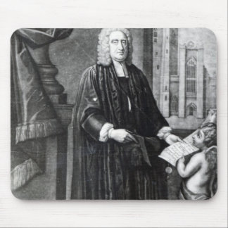 Jonathan Swift, grabado por Andrew Miller, 1743 Alfombrillas De Raton