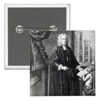 Jonathan Swift, grabado por Andrew Miller, 1743 Pin Cuadrado