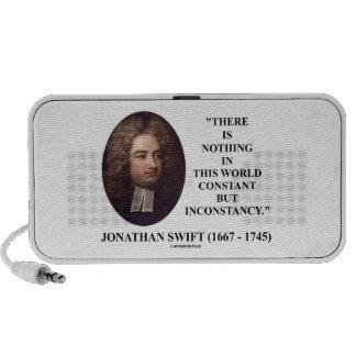 Jonathan Swift nada constante pero inconstancia Laptop Altavoces