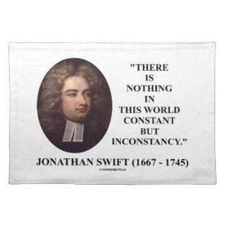 Jonathan Swift nada constante pero inconstancia Mantel