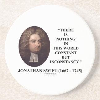 Jonathan Swift nada constante pero inconstancia Posavaso Para Bebida